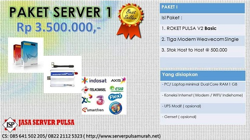 Manfaat dari Pemakaian Software Pulsa Indonesia yang Terbaik