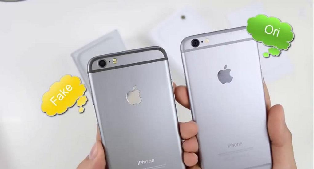 Perbedaan Mencolok Antara iPhone Asli dan iPhone Palsu